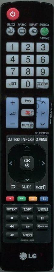 Пульт LG AKB73615307