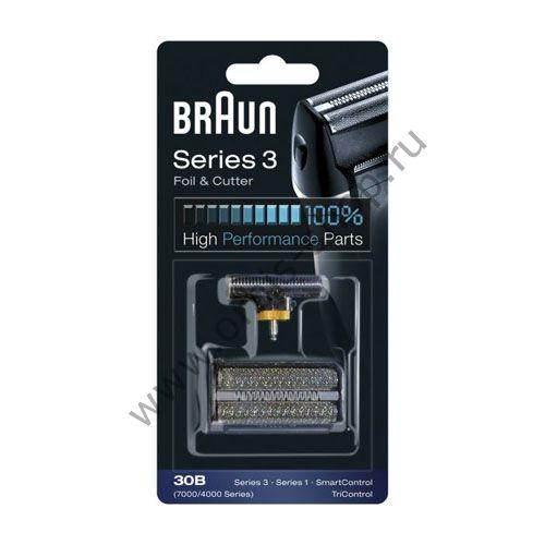 Сетка+лезвия для бритвы Braun 4000/7000 (30B)