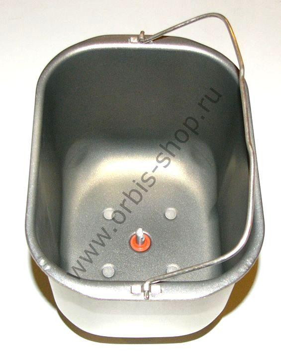 Ведро для хлебопечки Kenwood BM250/256/260/366 прямые зацепы