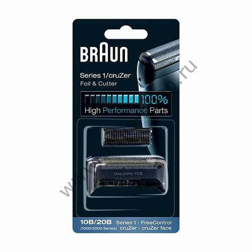 Сетка+лезвия для бритвы Braun 1000/2000 Series (10B/20B)